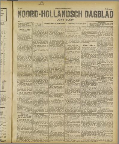 Ons Blad : katholiek nieuwsblad voor N-H 1922-12-07