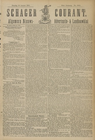 Schager Courant 1911-01-10