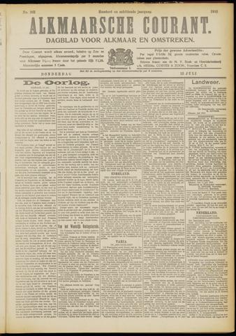Alkmaarsche Courant 1916-07-13