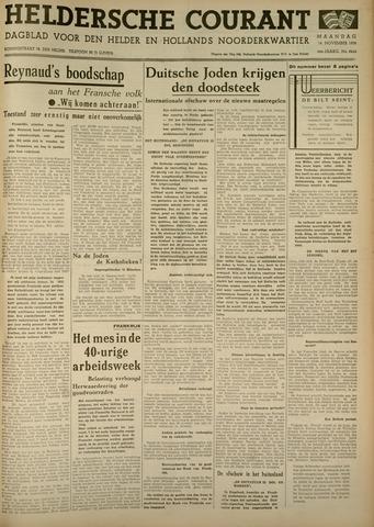 Heldersche Courant 1938-11-14
