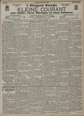 Vliegend blaadje : nieuws- en advertentiebode voor Den Helder 1906-10-20