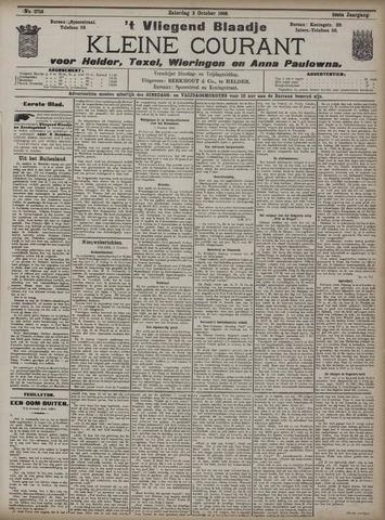 Vliegend blaadje : nieuws- en advertentiebode voor Den Helder 1908-10-03