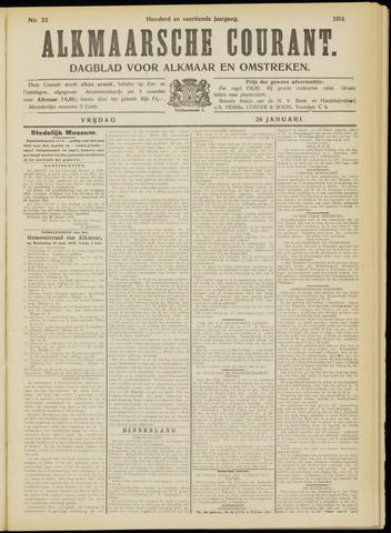 Alkmaarsche Courant 1912-01-26