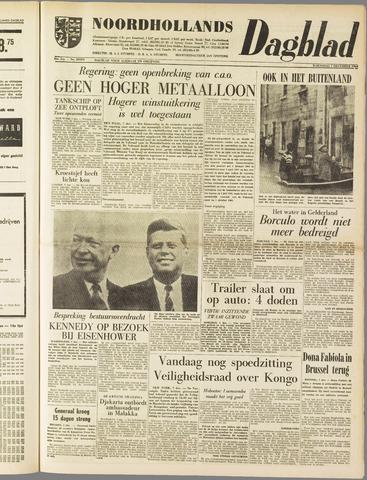 Noordhollands Dagblad : dagblad voor Alkmaar en omgeving 1960-12-07