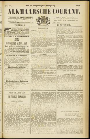 Alkmaarsche Courant 1894-11-16