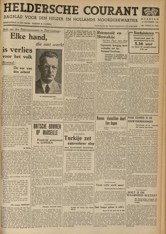 Heldersche Courant 1940-11-25