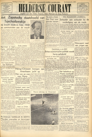 Heldersche Courant 1953-03-23