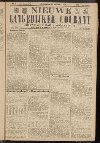 Nieuwe Langedijker Courant 1928-01-19