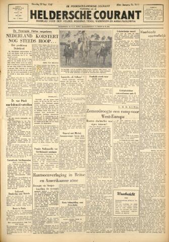 Heldersche Courant 1947-09-22