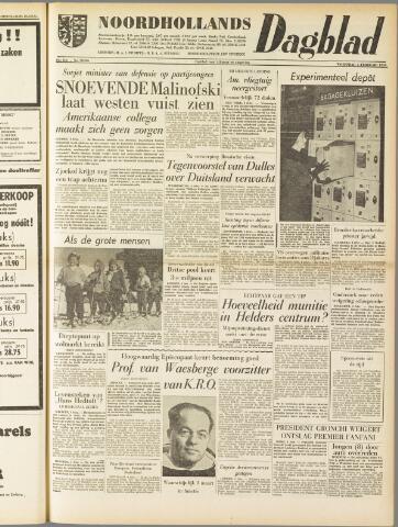 Noordhollands Dagblad : dagblad voor Alkmaar en omgeving 1959-02-04