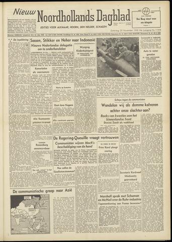 Nieuw Noordhollandsch Dagblad : voor Alkmaar en omgeving 1948-11-20