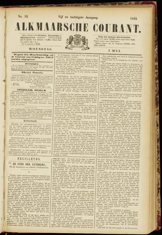 Alkmaarsche Courant 1883-05-02