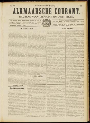 Alkmaarsche Courant 1910-10-27