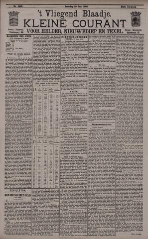 Vliegend blaadje : nieuws- en advertentiebode voor Den Helder 1896-06-20