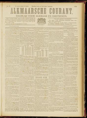 Alkmaarsche Courant 1919-02-01