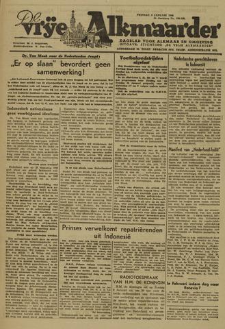 De Vrije Alkmaarder 1946-01-04