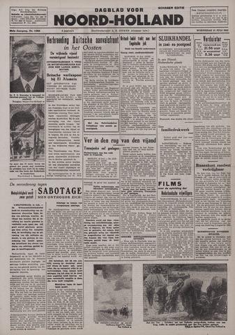 Dagblad Noord-Holland, Schager editie 1942-07-15