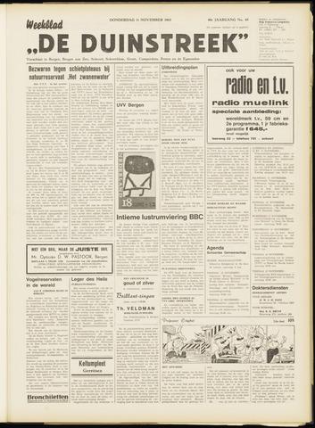 De Duinstreek 1965-11-11