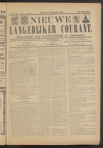 Nieuwe Langedijker Courant 1922-01-31
