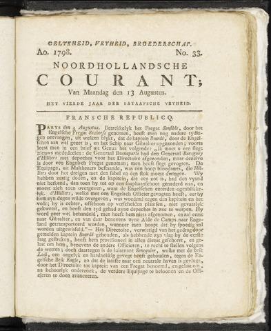 Noordhollandsche Courant 1798-08-13