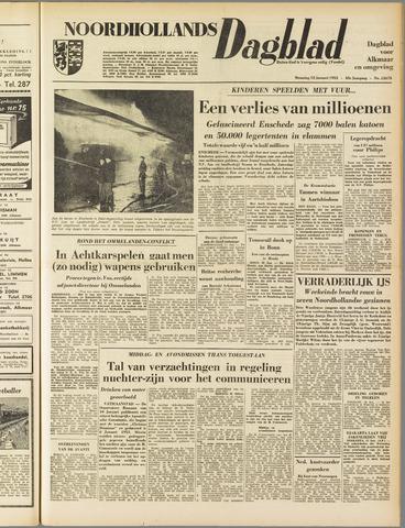 Noordhollands Dagblad : dagblad voor Alkmaar en omgeving 1953-01-12