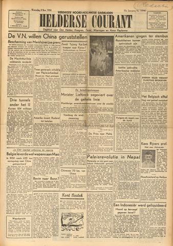 Heldersche Courant 1950-11-08