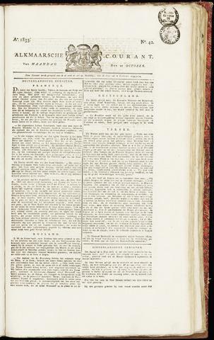 Alkmaarsche Courant 1833-10-21