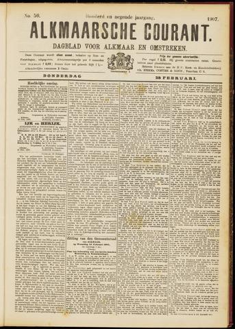 Alkmaarsche Courant 1907-02-28