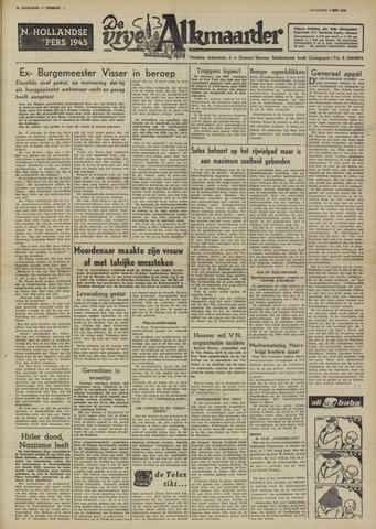 De Vrije Alkmaarder 1950-05-01