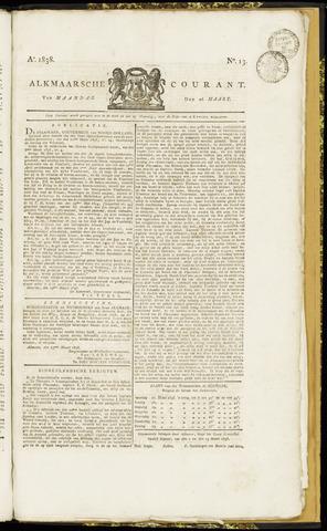 Alkmaarsche Courant 1838-03-26