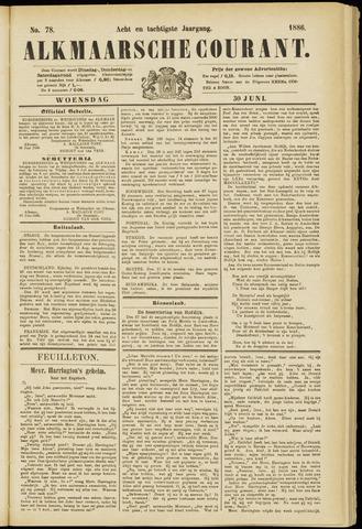 Alkmaarsche Courant 1886-06-30