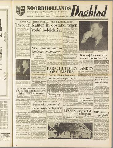 Noordhollands Dagblad : dagblad voor Alkmaar en omgeving 1958-03-13