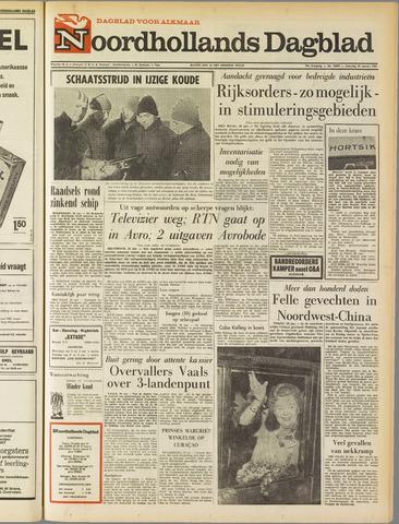 Noordhollands Dagblad : dagblad voor Alkmaar en omgeving 1967-01-28