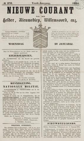 Nieuwe Courant van Den Helder 1864-01-20