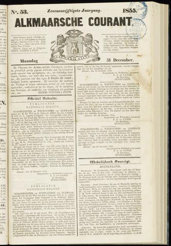 Alkmaarsche Courant 1855-12-31