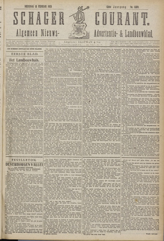 Schager Courant 1920-02-18