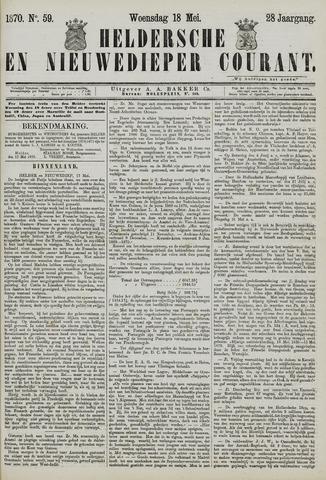 Heldersche en Nieuwedieper Courant 1870-05-18
