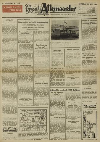 De Vrije Alkmaarder 1948-08-21
