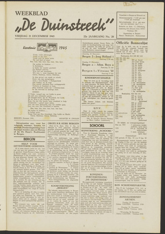 De Duinstreek 1945-12-21