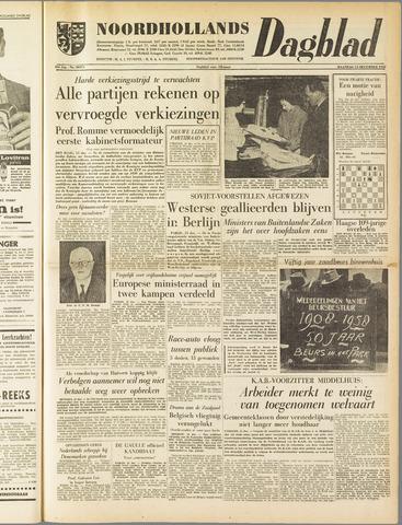 Noordhollands Dagblad : dagblad voor Alkmaar en omgeving 1958-12-15