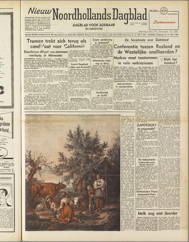 Nieuw Noordhollandsch Dagblad : voor Alkmaar en omgeving 1952-03-20