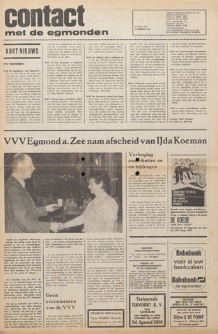 Contact met de Egmonden 1975-06-04