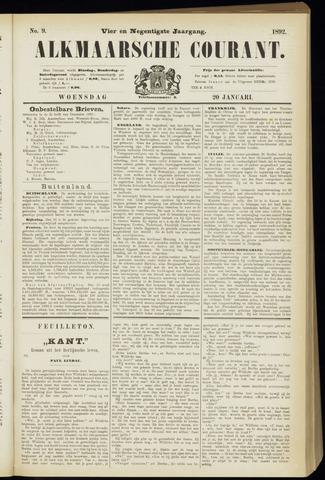 Alkmaarsche Courant 1892-01-20