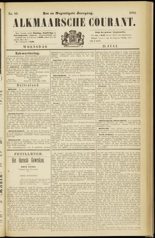 Alkmaarsche Courant 1894-07-25