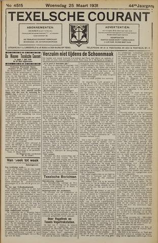 Texelsche Courant 1931-03-25