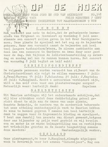Op De Hoek, weekblad voor Akersloot 1964-07-03