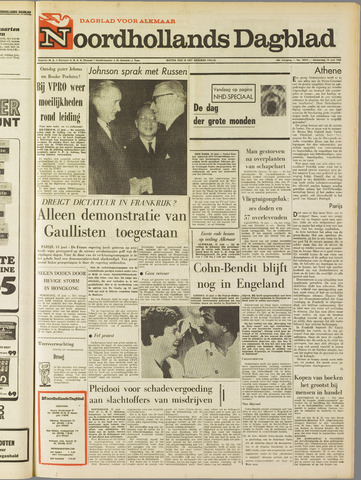 Noordhollands Dagblad : dagblad voor Alkmaar en omgeving 1968-06-13