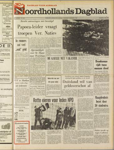 Noordhollands Dagblad : dagblad voor Alkmaar en omgeving 1969-05-12