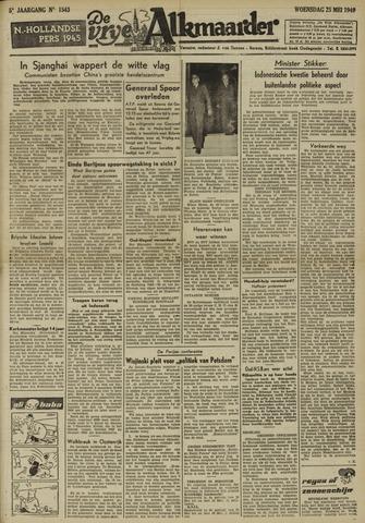 De Vrije Alkmaarder 1949-05-25