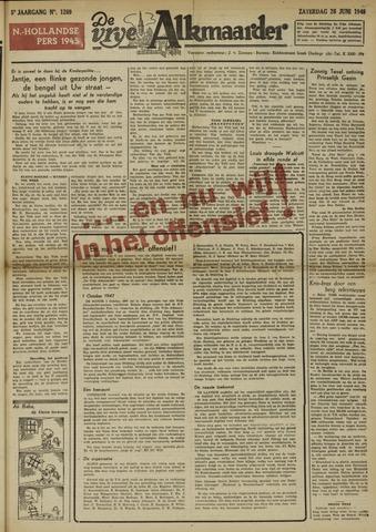 De Vrije Alkmaarder 1948-06-26